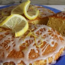 torta semplice al limone - con o senza bimby
