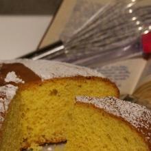 torta semplice alla vaniglia