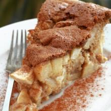 Torta sharlotka (russia)