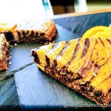 Torta soffice arancia e cacao