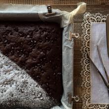 Torta soffice doppio cioccolato