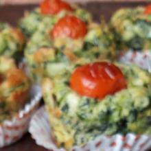 Tortini spinaci e fiocchi di latte