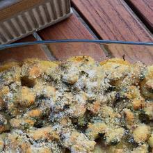 Tortino di cozze e patate al forno - ricetta passo passo