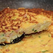 tortino in padella senza uova