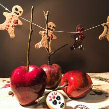 trick or treat? biscottini vudù e mele caramellate