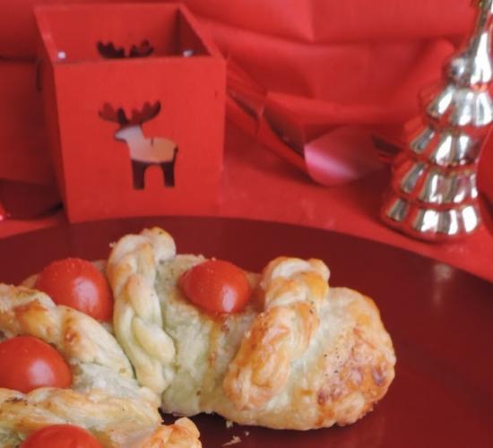 Bastone salato natalizio