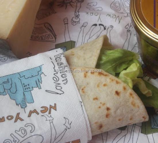 Burrito farcito e peach pie per il contest lattidamangiare 4.0