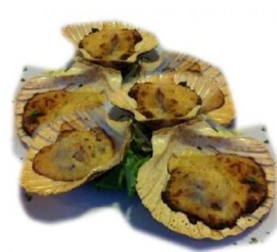 Capesante gratinate (bimby)