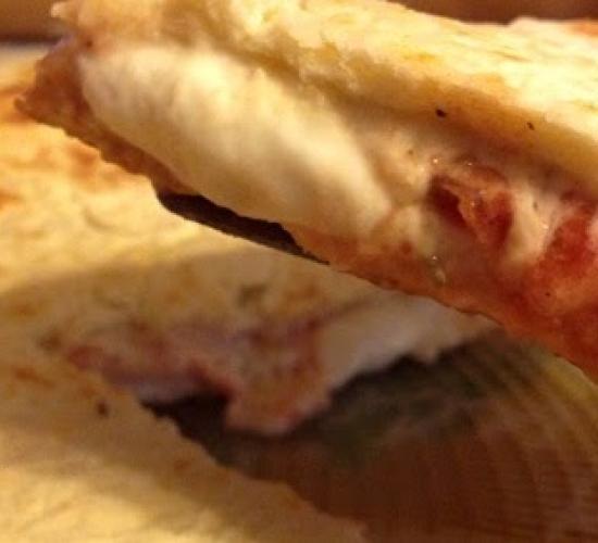Focaccia pizzosa in padella