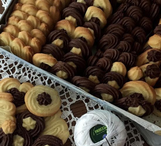Frollini vaniglia e cacao - ricetta passo passo