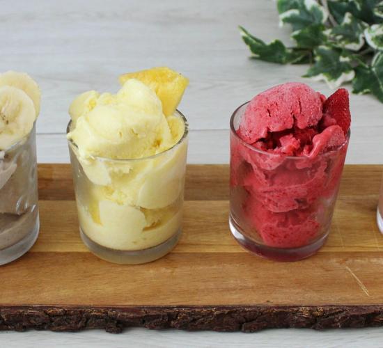 Gelato alla frutta senza gelatiera, soltanto 3 ingredienti