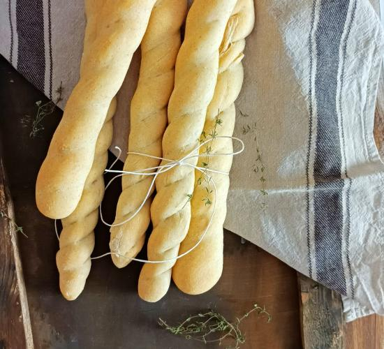 Grissini con farina multicerali