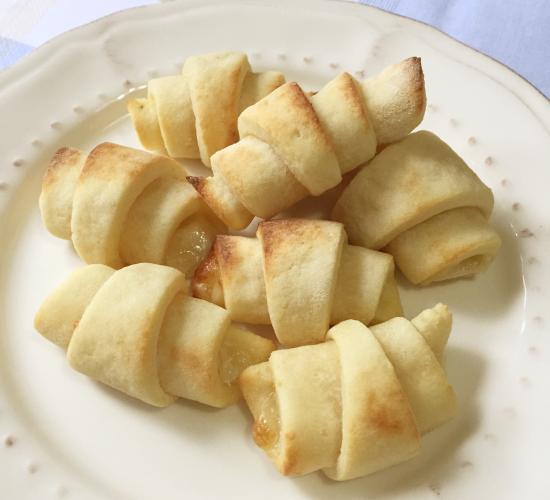 Mini croissant di patate