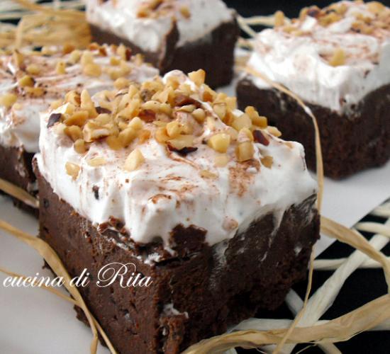 Mousse panna e cioccolato / cream and chocolate mousse