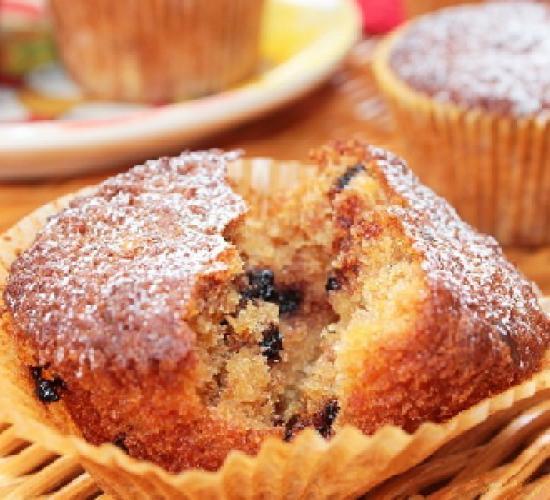 muffin di pandoro riciclato