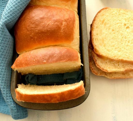 Pan brioche allo sciroppo d'agave