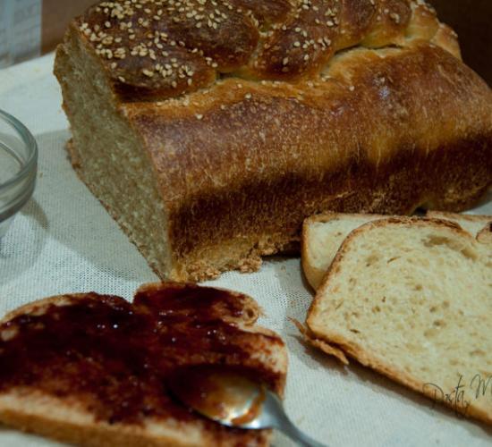 Panbauletto morbido con farine miste