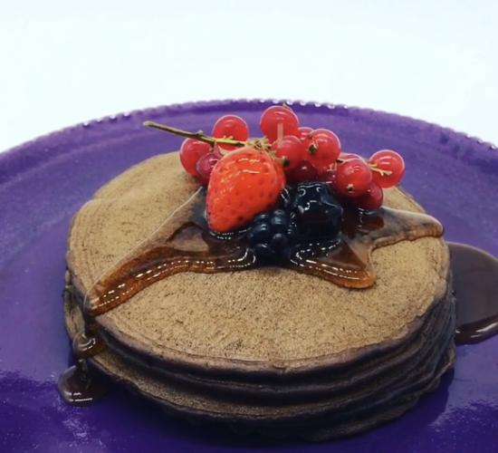 pancakes alla guinness