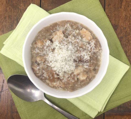 panèda, zuppa di pane modenese