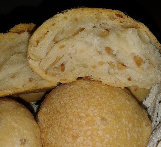 Pani cun gerdas – pane con ciccioli
