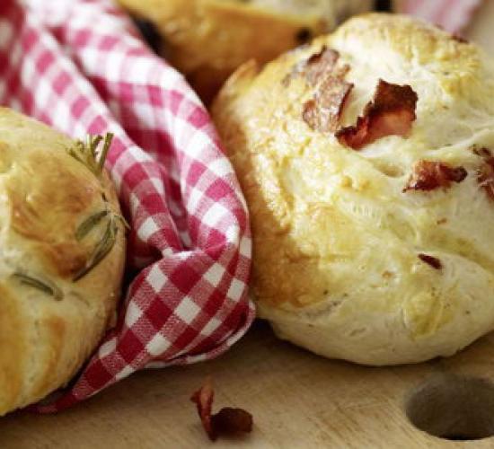 panini alla pancetta rosmarino e olive