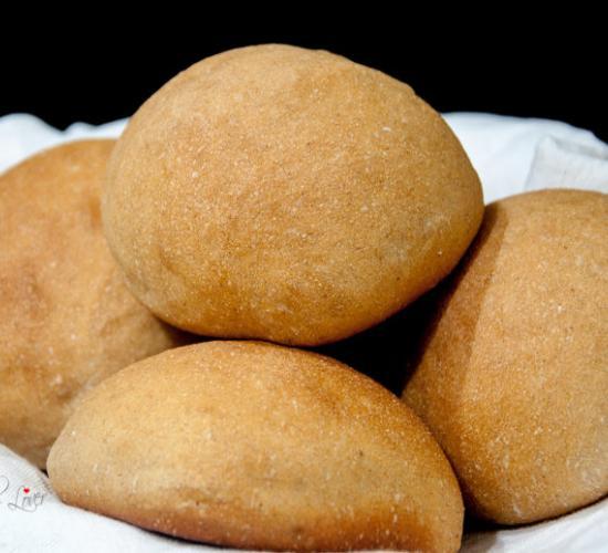 panini con semola integrale e grano saraceno