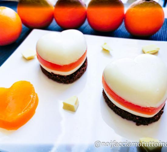 Panna cotta al cioccolato bianco e arancia