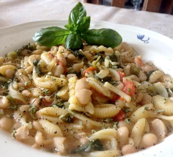 pasta e fagioli alla maruzzara - le ricette di max