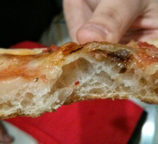 """Pizza """"50""""  - Con lievito madre"""