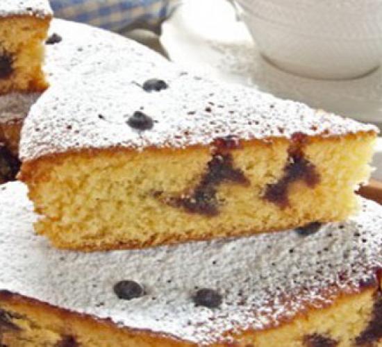 Plumcake con gocce di cioccolato (bimby)
