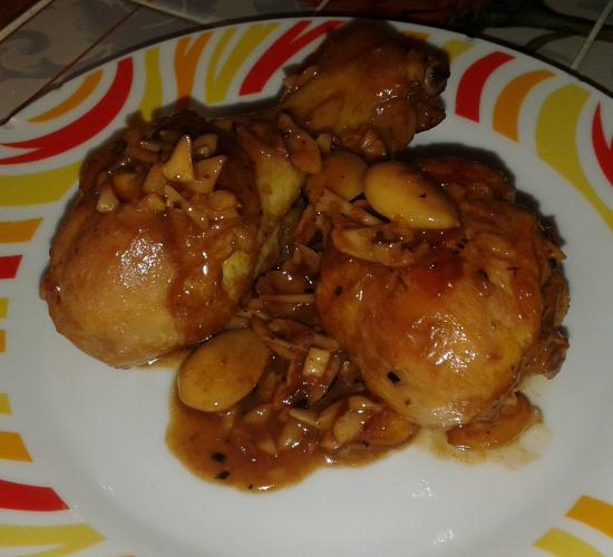 pollo alle mandorle