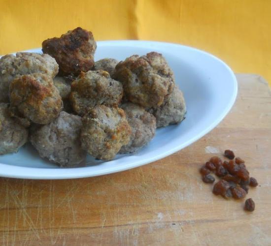 polpette alla napoletana:per cucina della Campania