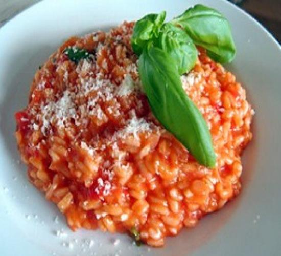 risotto pomodoro e basilico (bimby)