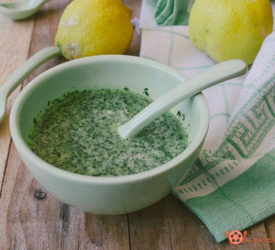 salsa verde alla menta e limone – ricette di base