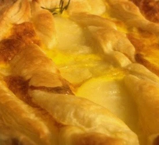 Sfogliata con patate e fantasia