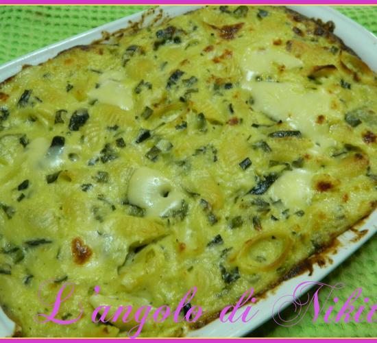 Sformato di pasta con zucchine