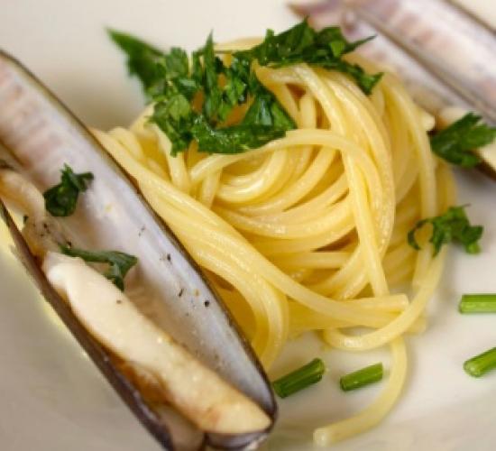 Spaghetti ai cannolicchi