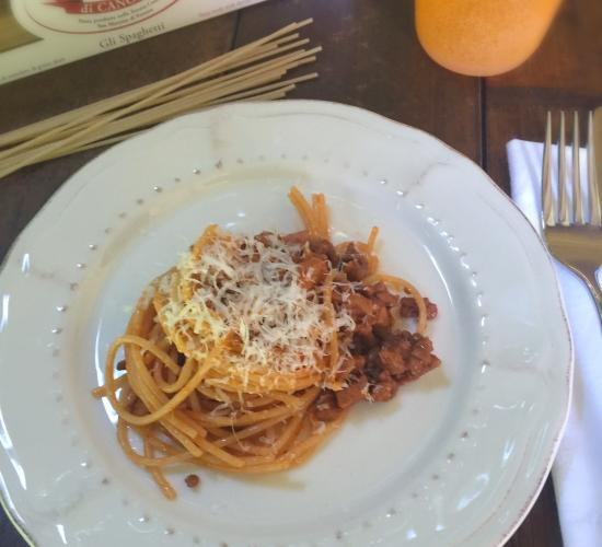 Spaghetti al ragù calabrese