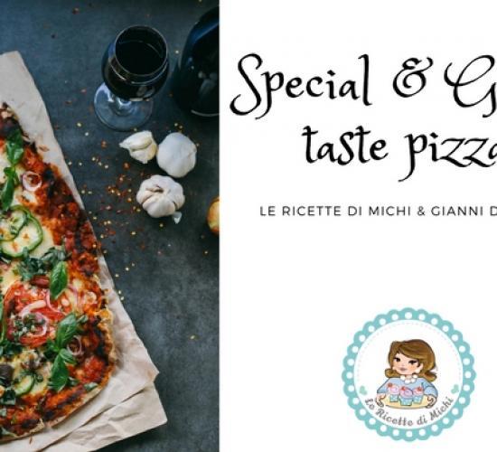 special & good taste pizza
