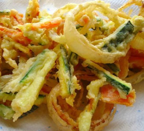 tempura di verdure (ricetta giapponese)