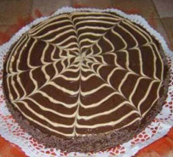 Torta di halloween al cioccolato