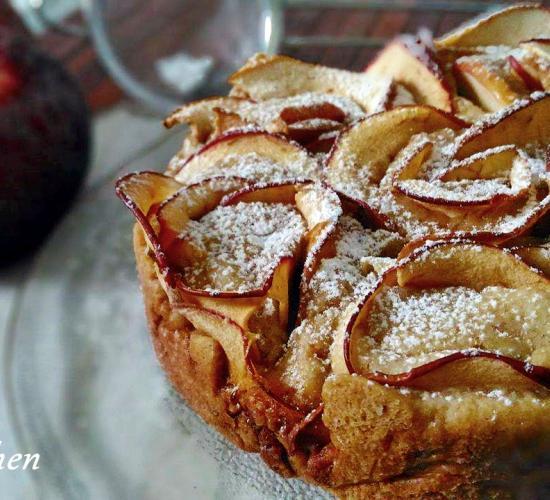 Torta di rose di mele