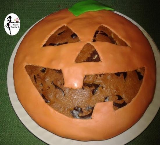 torta variegata halloween (video)