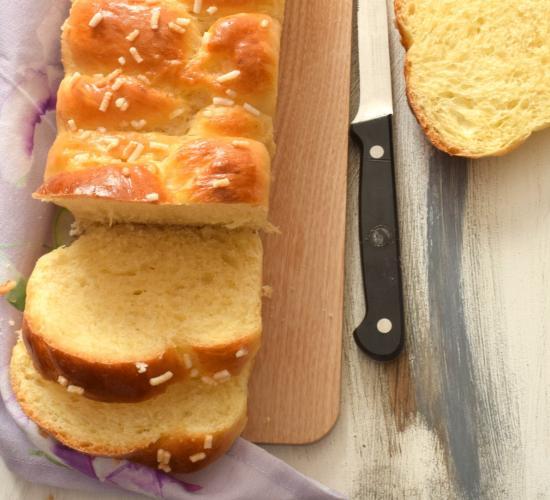 Treccia pan brioche dolce