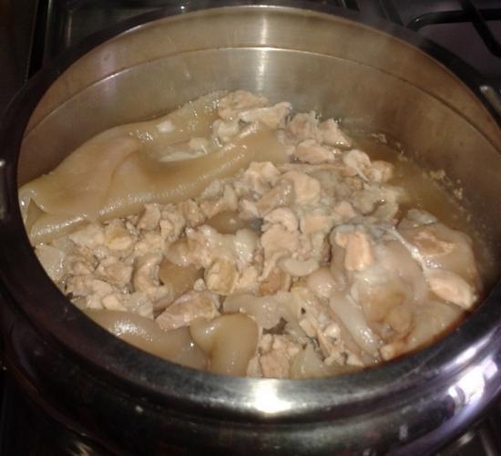 Video ricetta ciccioli di maiale con la pentola a pressione